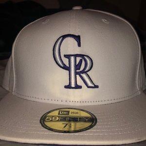 Colorado Rockies hat! 7 1/4 size!